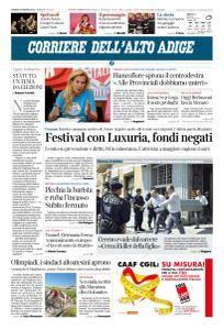 Corriere dell'Alto Adige - 28 Giugno 2018