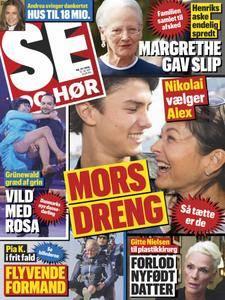SE og HØR – 12. september 2018
