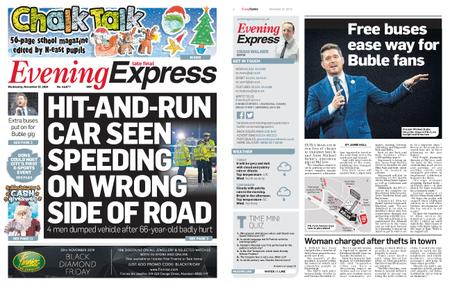 Evening Express – November 27, 2019