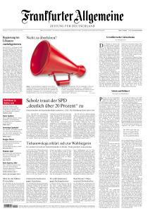Frankfurter Allgemeine Zeitung - 11 August 2020