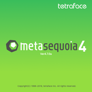 Metasequoia 4.7.0a macOS