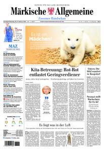 Märkische Allgemeine Zossener Rundschau - 16. Februar 2019