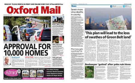 Oxford Mail – May 20, 2020