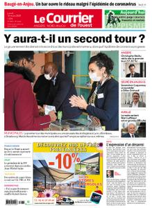 Le Courrier de l'Ouest Angers – 16 mars 2020