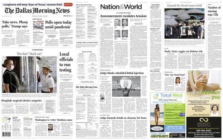 The Dallas Morning News – July 14, 2020