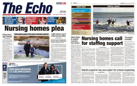 Evening Echo – January 25, 2021