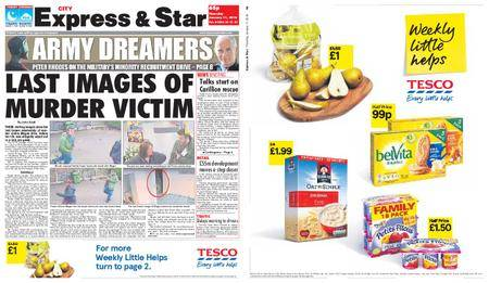 Express and Star City Edition – January 11, 2018