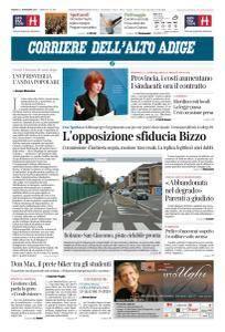 Corriere dell'Alto Adige - 11 Novembre 2017