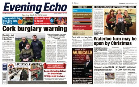 Evening Echo – November 20, 2018
