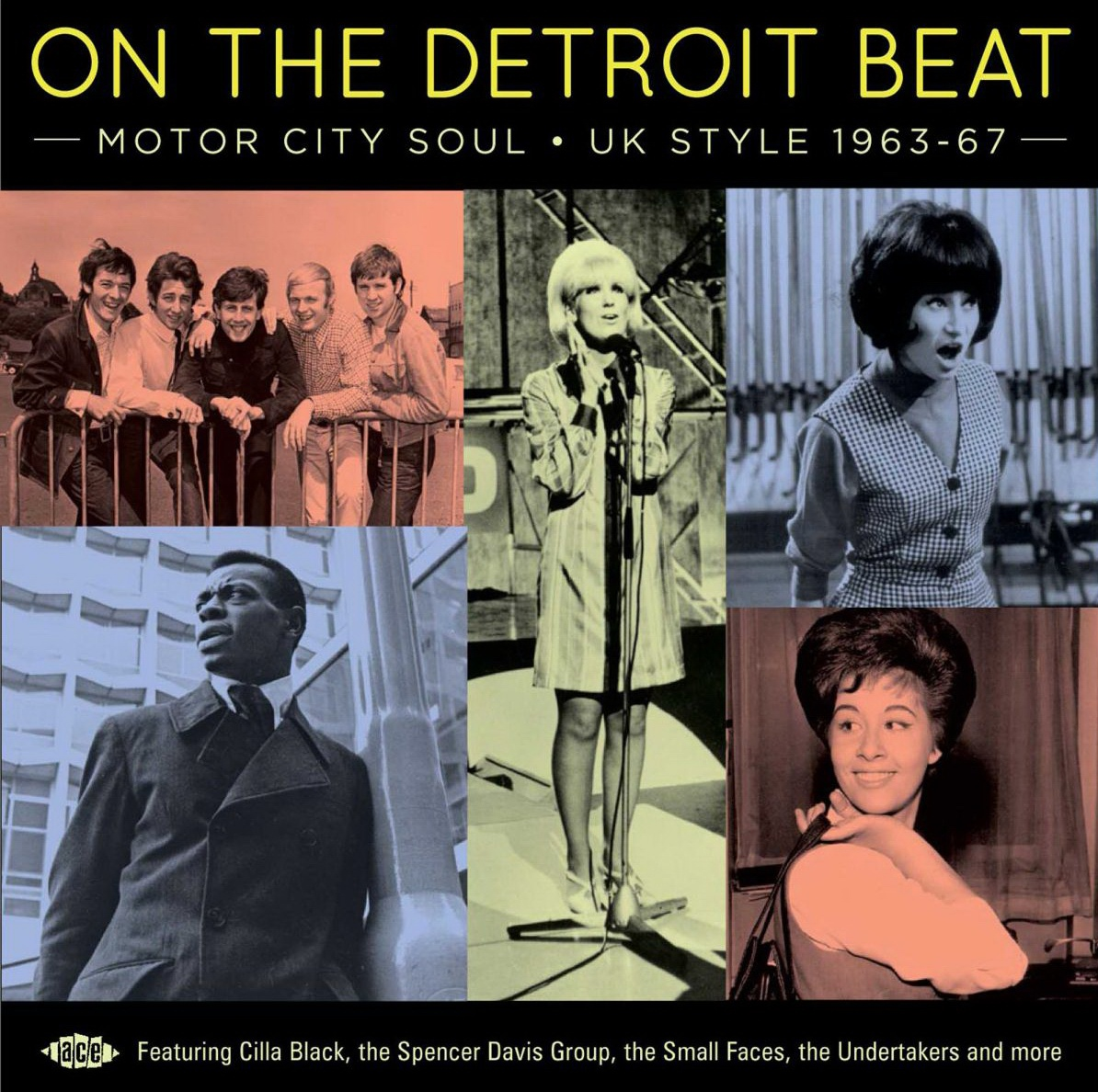 Various Artists - On The Detroit Beat! Motor City Soul - UK Style 1963-67 (2019) {Ace CDTOP 1539}