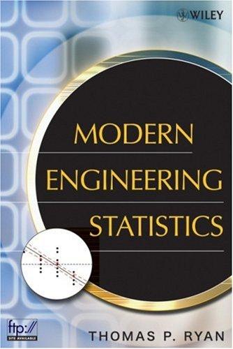 Modern Engineering Statistics (repost)