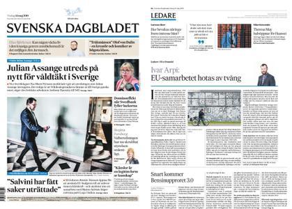 Svenska Dagbladet – 14 maj 2019