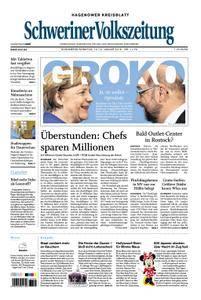 Schweriner Volkszeitung Hagenower Kreisblatt - 13. Januar 2018