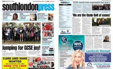South London Press – August 24, 2018
