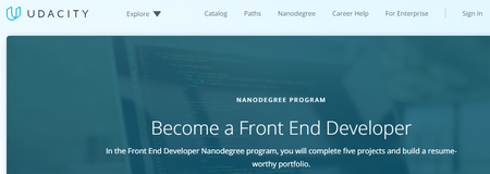 Udacity - Front-End Web Developer Nanodegree nd001 v7.0.0 (2018)