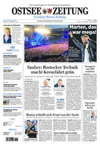 Ostsee Zeitung Wolgast - 03. September 2018