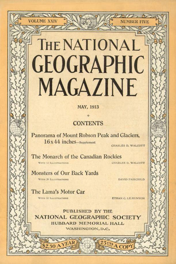 National Geographic Mai 1913