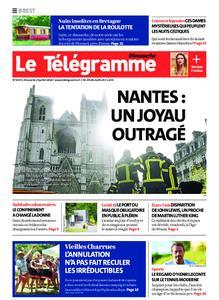 Le Télégramme Brest Abers Iroise – 19 juillet 2020