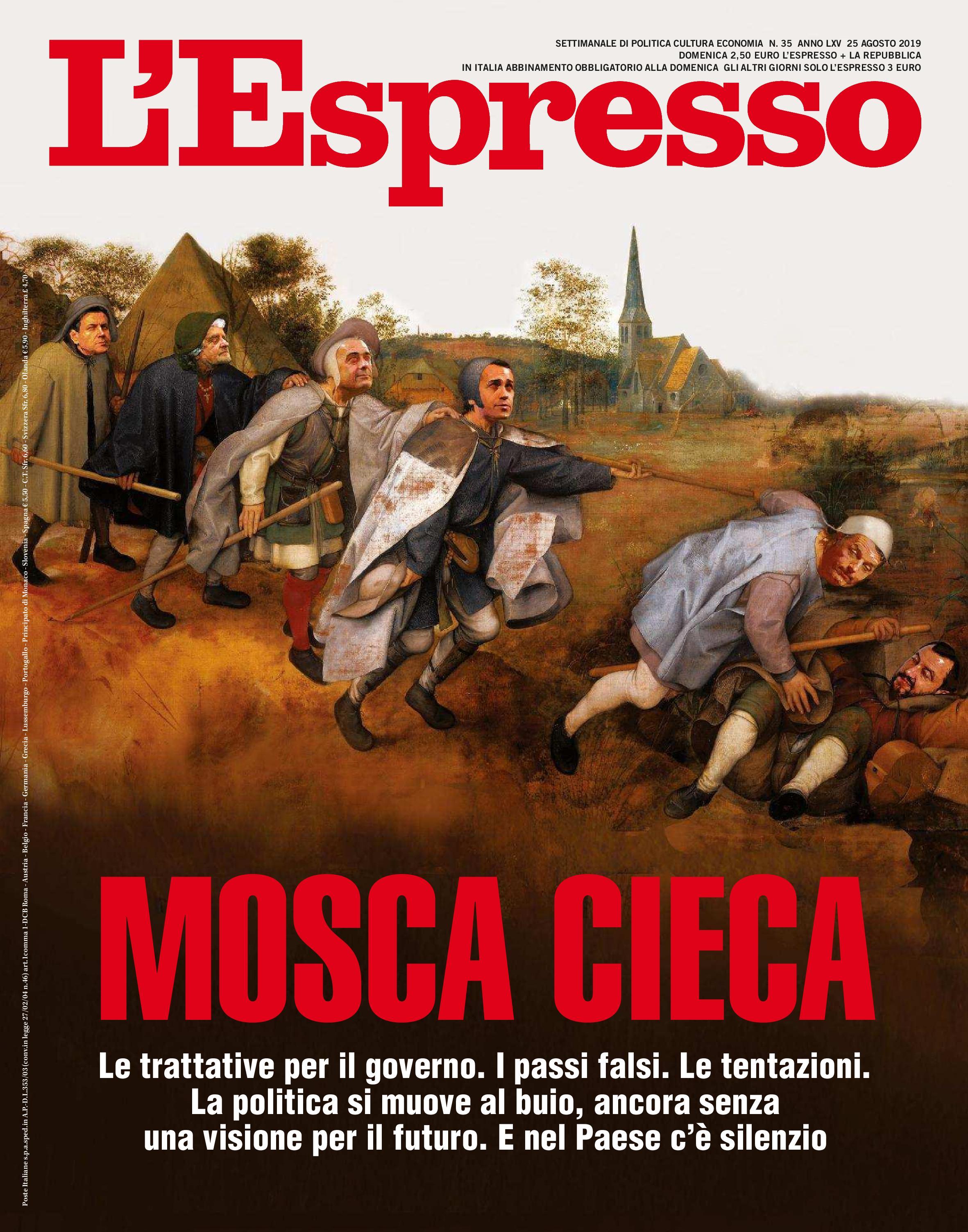 L'Espresso N.35 - 25 Agosto 2019