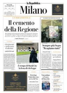 la Repubblica Milano - 13 Novembre 2019