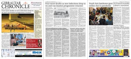 Gibraltar Chronicle – 01 February 2021