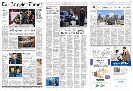 Los Angeles Times – August 19, 2020