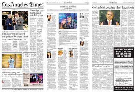 Los Angeles Times – September 21, 2020