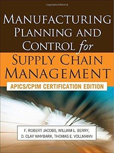 Manufacturing Planning and Control for Supply Chain Management (Repost)