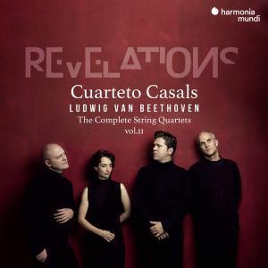 Cuarteto Casals - Beethoven: Revelations (2019) [Official Digital Download 24/96]
