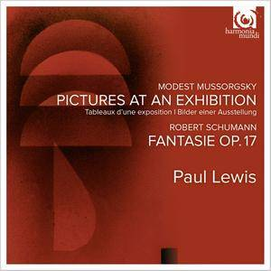 Paul Lewis - Modest Mussorgsky: Pictures at an Exhibition; Robert Schumann: Fantasie, Op.17 (2015)