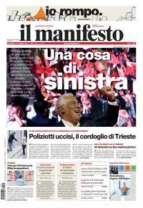 il Manifesto - 6 Ottobre 2019