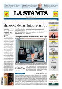La Stampa Torino Provincia e Canavese - 19 Dicembre 2018