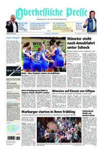 Oberhessische Presse Marburg/Ostkreis - 09. April 2018