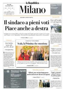 la Repubblica Milano - 5 Dicembre 2019