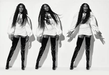 Naomi Campbell by Thierry Le Goues for ES Magazine May 2017