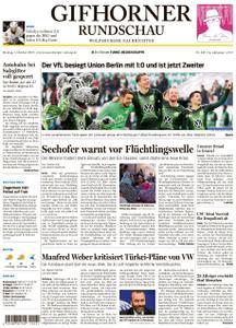 Gifhorner Rundschau - Wolfsburger Nachrichten - 07. Oktober 2019