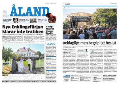 Ålandstidningen – 25 juni 2020