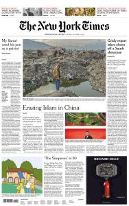 International New York Times - 15 October 2018