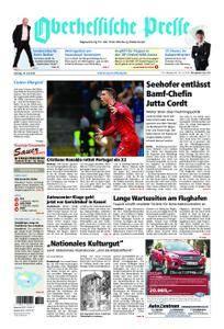 Oberhessische Presse Marburg/Ostkreis - 16. Juni 2018