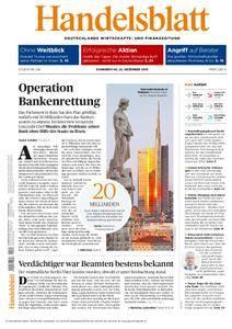 Handelsblatt - 22. Dezember 2016