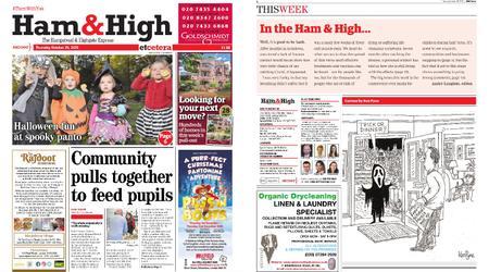 Ham & High – October 29, 2020