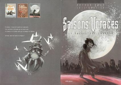 Le Soleil des Loups - Tome 3 - Saisons Voraces