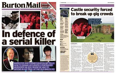 Burton Mail – September 28, 2020