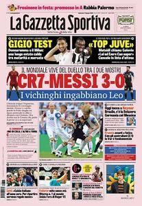 La Gazzetta dello Sport - 17 giugno 2018