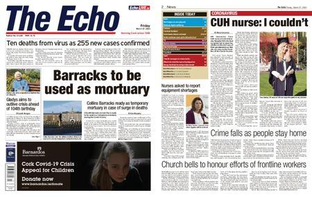 Evening Echo – March 27, 2020