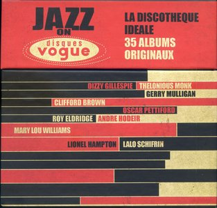 Various Artists - Jazz On Disques Vogue: The Perfect Collection - 35 Original Albums (2013) {20CD Sony Music Box Set}