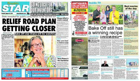 Shropshire Star Shrewsbury Edition – August 29, 2017