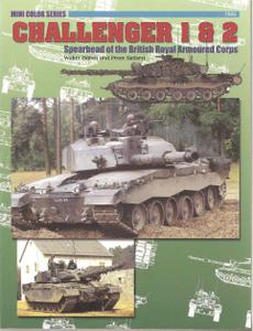 Challenger 1 & 2: Spearhead of the British Royal Armoured Corps (Concord 7505)