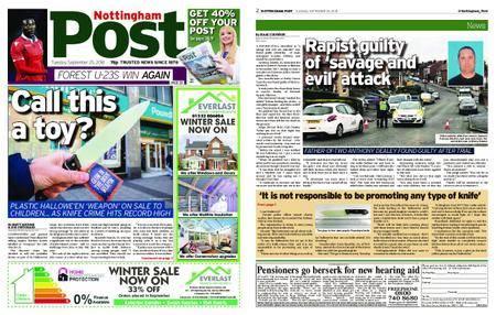 Nottingham Post – September 25, 2018