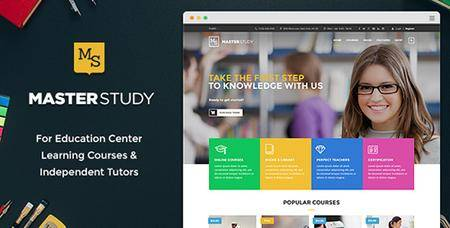 ThemeForest - Masterstudy v1.6.2 - Education WordPress Theme for Learning, Training and Education Center - 12170274